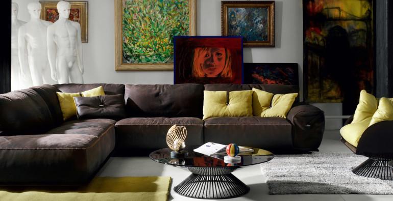 итальянский угловой диван в ITM