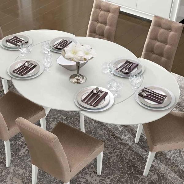 итальянский обеденный стол раскладной