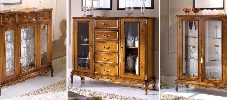 итальянская мебель в гостиную классика