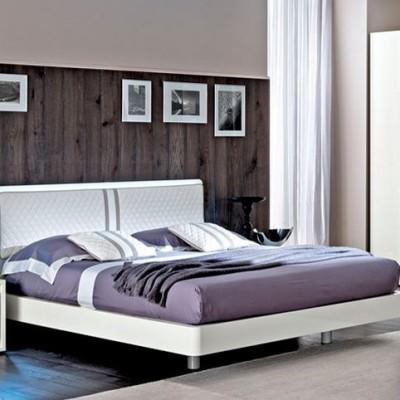 итальянская мягкая кровать Dama_Bianca_Night