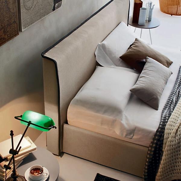 итальянская кровать River 3 ткань Point
