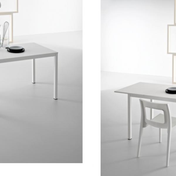 итальянские белые столы Light