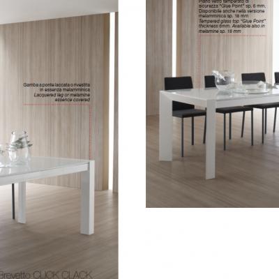 итальянские белые столы Wood