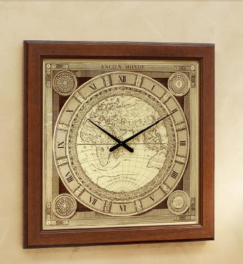 итальянские часы дерево