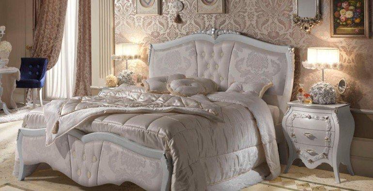 итальянские кровати классика