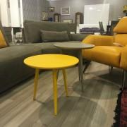 итальянские столы - желтый темный беж