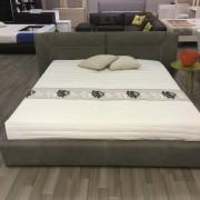 итальянская кровать беж