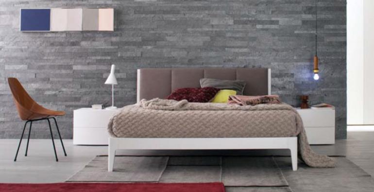 итальянские кровати белые