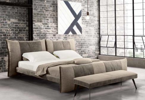 итальянская мягкая кровать-5
